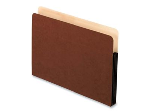 Smart Shield File Pocket 1 Pocket Straight Cut Letter Red Fiber