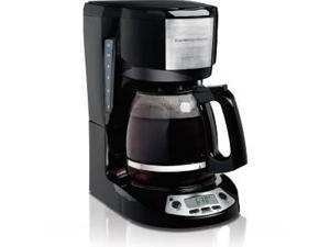 Hamilton Beach  49615  Black/Steel  12 Cup Coffeemaker with Programmable Clock