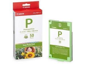Canon Usa Canon Easy Photo Pack E-p50 Print Ribbon Cassette And Paper Kit