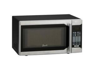 0.7 Cu.ft Capacity Microwave Oven 700 Watts Stainless Steel and Black