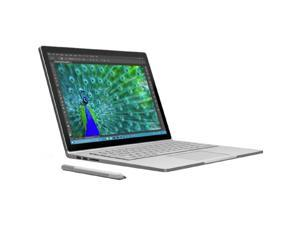 "Microsoft Surface Book W45-00001 Ultrabook Intel Core i5 8 GB Memory 128 GB SSD Intel HD Graphics 13.5"" 3000 x 2000 Touchscreen 5 MP Front / 8 MP Rear Camera Windows 10 Pro 64-Bit Bundle with Pen"