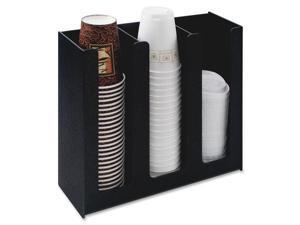 Cup Holder 12 3/4w x 4 1/2d x 11 3/4d Black