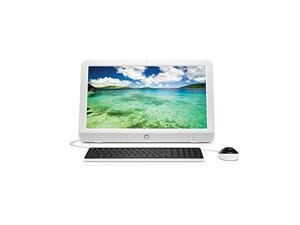 "HP All-in-One Computer 20-e010 AMD E-Series E1-6010 (1.35 GHz) 4 GB DDR3 500 GB HDD 19.5""  Windows 10 Home 64-Bit"