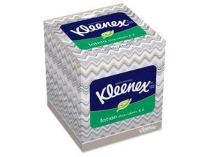 Facial Tissue, Lotion, Upright, 75SH/BX, White