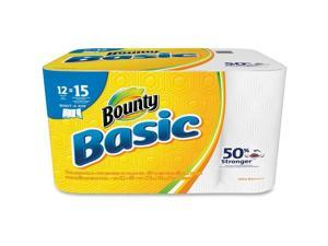 Bounty® Towel,Bountybsc12pksas,Wh 92972