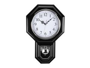 Sima 180BWAC Essex Pendulum Wall Clock 12 X 17 Inch