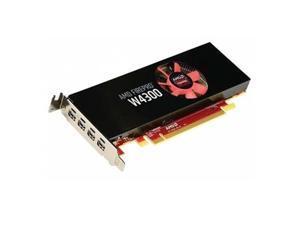 Sapphire Video Card 100-505973 AMD FirePro W4300 4GB DDR5 PCI Express Quad Mini-DisplayPort LP Full Retail