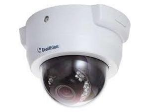 GEOVISION, MODEL GV-FD3410, MOTORIZED FIXED DOME IP CAMERA, 3X ZOOM, WDR PRO, H.264, 3M IR FIXED IP DOME (WITH VARIFOCAL LENS F3 - 9MM)