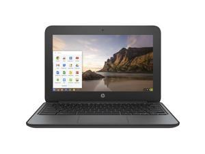 "HP 11 G4 (V2W32UT#ABA) Chromebook Intel Celeron N2840 (2.16 GHz) 2 GB Memory 16 GB eMMC SSD 11.6"" Chrome OS"