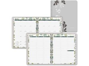 "Day Runner 759-905 Recycled Botanique Weekly/Monthly Planner, Design, 8 1/2"" x 11"""