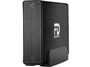 Fantom Drives G-Force Quad 5TB USB 3.0 / Firewire400 / 2 x Firewire800 / eSATA Aluminum Desktop External Hard Drive GF5000QU3 Black