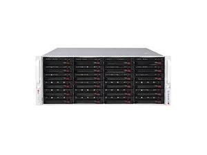 SUPERMICRO SSG-6048R-E1CR24L 4U Rackmount Server Barebone Dual LGA 2011 Intel C612 2133 / 1866 / 1600 MHz ECC DDR4 SDRAM 72-bit