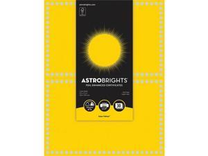 Astrobrights Awards,Solar,15sh/Pk,Yl 91106
