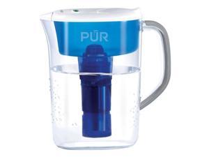 Pur Basic 7-Cup Pitcher - Pitcher - 40 gal / 2 Month - 7 Cups Pitcher Capacity - 1 - White
