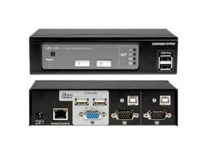 ConnectPRO - 2PORT USB  KVM SWITCH VGA WITH DDM & ACTIVE DDC