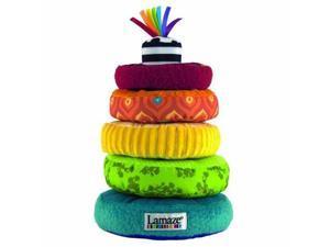 Lamaze Rainbow Stacking Rings Developmental Toy