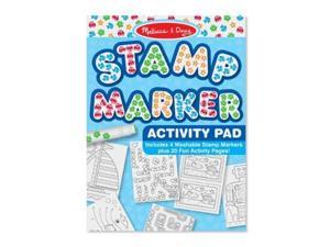 Melissa & Doug Stamp Marker Activity Pad - Blue