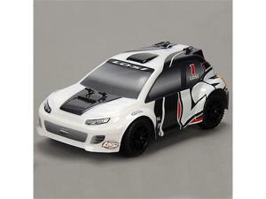 Team Losi 1/24 4WD Rally Car RTR: Grey/White