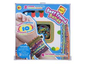 Alex Toys Best Friends Bands Friendship Bracelet Kit with 2 Looms and 10 Colors