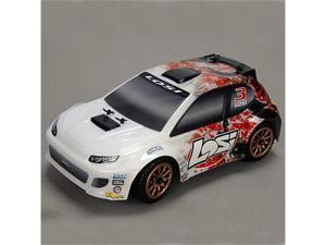 1/24 4WD Rally Car RTR: Red Spatter