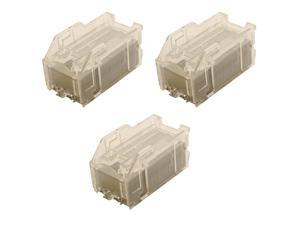 Compatible Staple Cartridge, Box of 3 for Sharp MX-SCX1 DX C310 / FX / C311 / FX / C400 / FX / C401 / FX / MX 2300N / 2310U / 2600N / 2610N / 2615N / 2616N / 2640N / 2700N / NJ / 3100N / 3110N / 3111U