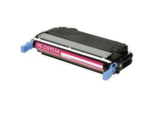 Compatible Magenta Toner Cartridge for HP Q5953A Color LaserJet 4700, Color LaserJet 4700PH+, Color LaserJet 4700dn, Color LaserJet 4700dtn, Color LaserJet 4700n