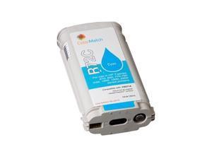 Compatible 130 ml Cyan Inkjet Print Cartridge for HP 72 DesignJet T1100, DesignJet T1120, DesignJet T1120ps, DesignJet T1200, DesignJet T610, DesignJet T620, DesignJet T770, Designjet T795 44-in