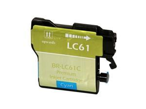 Compatible Cyan Inkjet Cartridge for Brother LC61C DCP 165C / 385C / 585CW / J125 / MFC 250C / 255CW / 290C / 295CN / 490CW / 495CW / 5490CN / 5890CN / 5895CW / 6490CW / 6890CDW / 790CW / 795CW / 990C