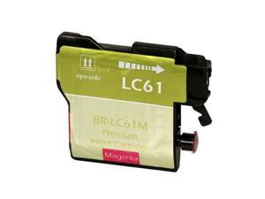 Compatible Magenta Inkjet Cartridge for Brother LC61M DCP 165C / 385C / 585CW / J125 / MFC 250C / 255CW / 290C / 295CN / 490CW / 495CW / 5490CN / 5890CN / 5895CW / 6490CW / 6890CDW / 790CW / 795CW / 9