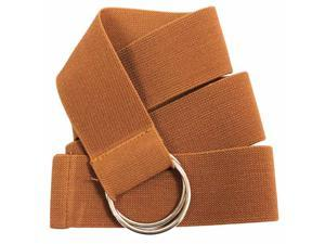 Light Brown Elastic Wide Stretchy O-Ring Belt