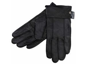 Super Soft Black 3m Insulated Leather Women's Gloves