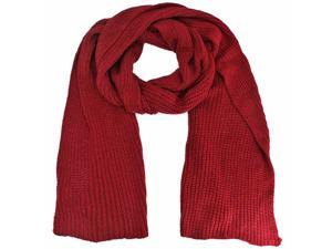 Red Extra Long & Wide Winter Scarf
