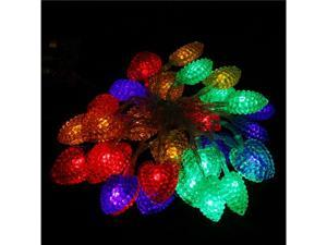RGB 40LED 4M Colorful Heart Christmas/Wedding/Party Decoration String Lights
