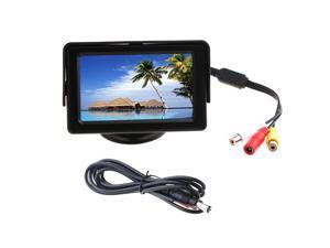 """4.3"""" Color LCD Car Rearview Monitor for Camera DVD VCR"""