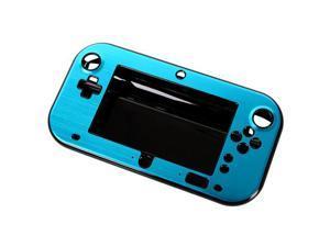 Blue Plastic Case Cover for Nintendo Wii U Gamepad Remote Controller
