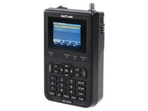 "SATlink WS-6906 3.5"" DVB-S FTA Data Digital Satellite Signal Finder Meter"