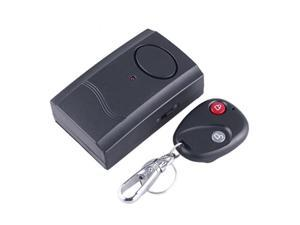 Wireless IR Remote Control Micro-Vibration Triggered Alarm Door/Window