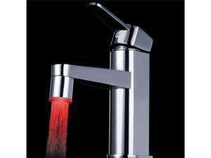 Glow Temperature Sensor LED Water Stream Faucet Tap 3 Color