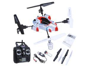 Syma X1 Spacecraft RC Helicopter, 4CH 2.4Ghz 360°Eversion LCD Display Gyro