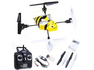 Syma X1 Bumblebee RC Helicopter, 4CH 2.4Ghz 360°Eversion LCD Display Gyro
