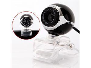 USB 50.0M HD Webcam Camera Web Cam With Mic for Desktop PC Laptop Computer Black