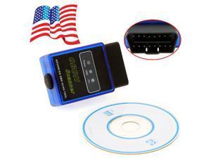 V2.1 Mini Bluetooth ELM327 OBDII OBD-II OBD2 Protocols Auto Diagnostic Scanner Tool