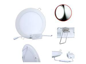 18W Panel Light  1600LM Round LED Ceiling Light/ Wall Light Recessed Down light Pure White