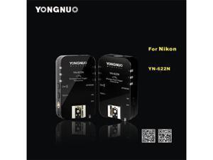 Wireless Remote Speedlite Flash Trigger Transceiver for Nikon YN-622N 2.4GHz 7 Channels 1/8000s