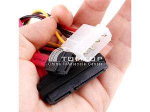 15+7 Pin Power/Data to 4 Pin IDE Power SATA Data Cable