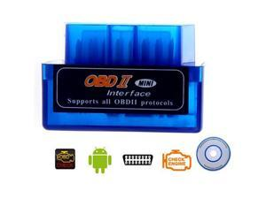 Tomotop Mini V1.5 ELM327 OBD2 Bluetooth Interface Auto Car Scanner Diagnostic Tool for Android
