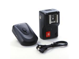 4 Channels Wireless Remote Speedlite Flash Trigger Universal for Canon Nikon Pentax Olympus PT-04GY