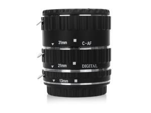 Electronic Metal Mount TTL Auto Focus AF Macro Extension Tube Ring for Canon EF/EF-S