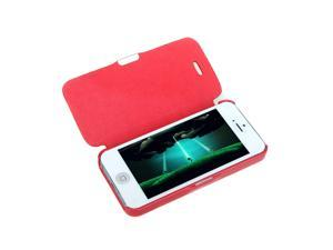 Magnetic Leather Flip Hard Full Case Cover for iPhone 5 5S