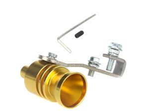 Turbo Sound Whistle Exhaust Pipe Tailpipe Blow-off Valve Aluminum Size XL